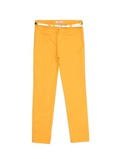 Pink&Orange Pantolon Sarı